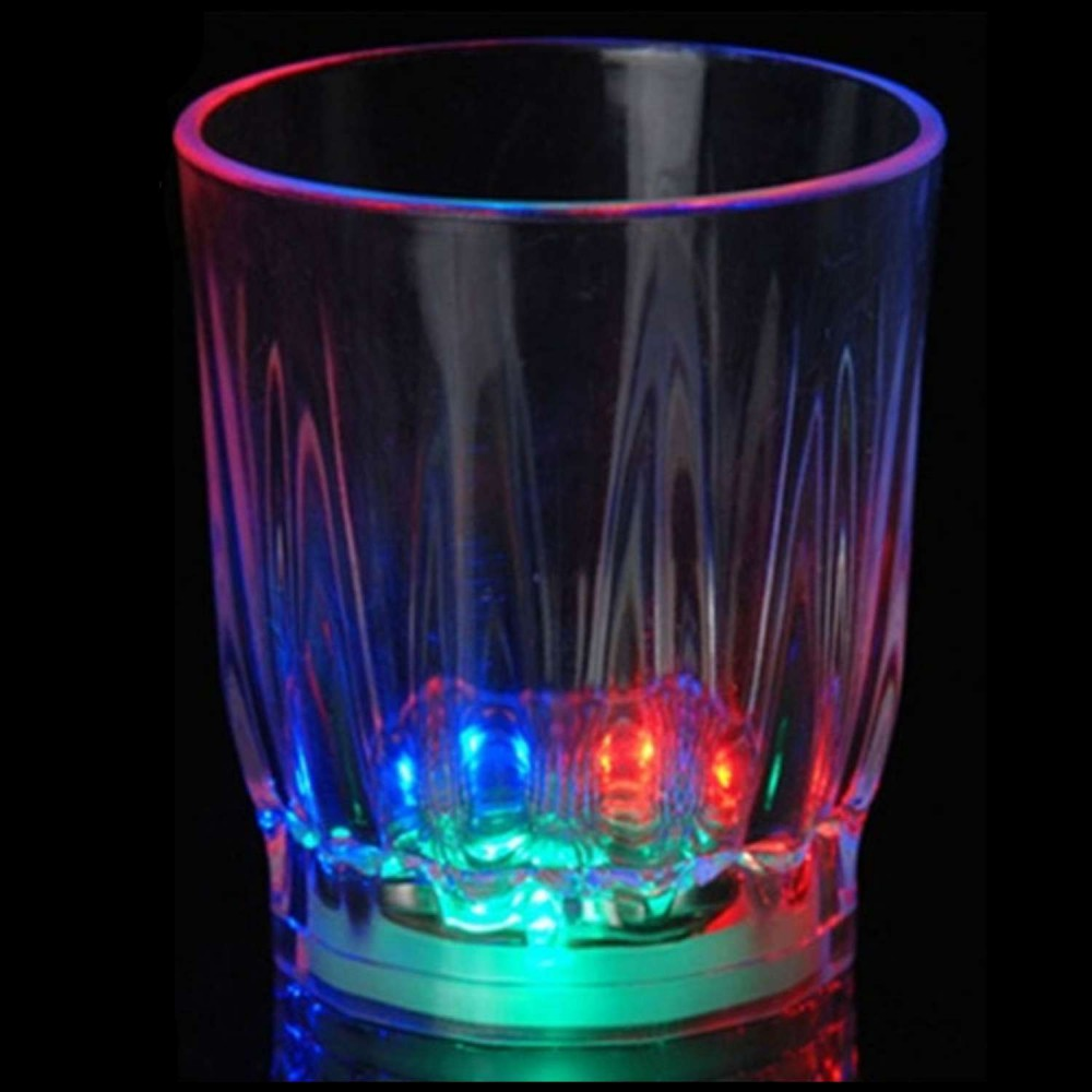 Copa Shot o Aguardiente Con Luces LED 2oz