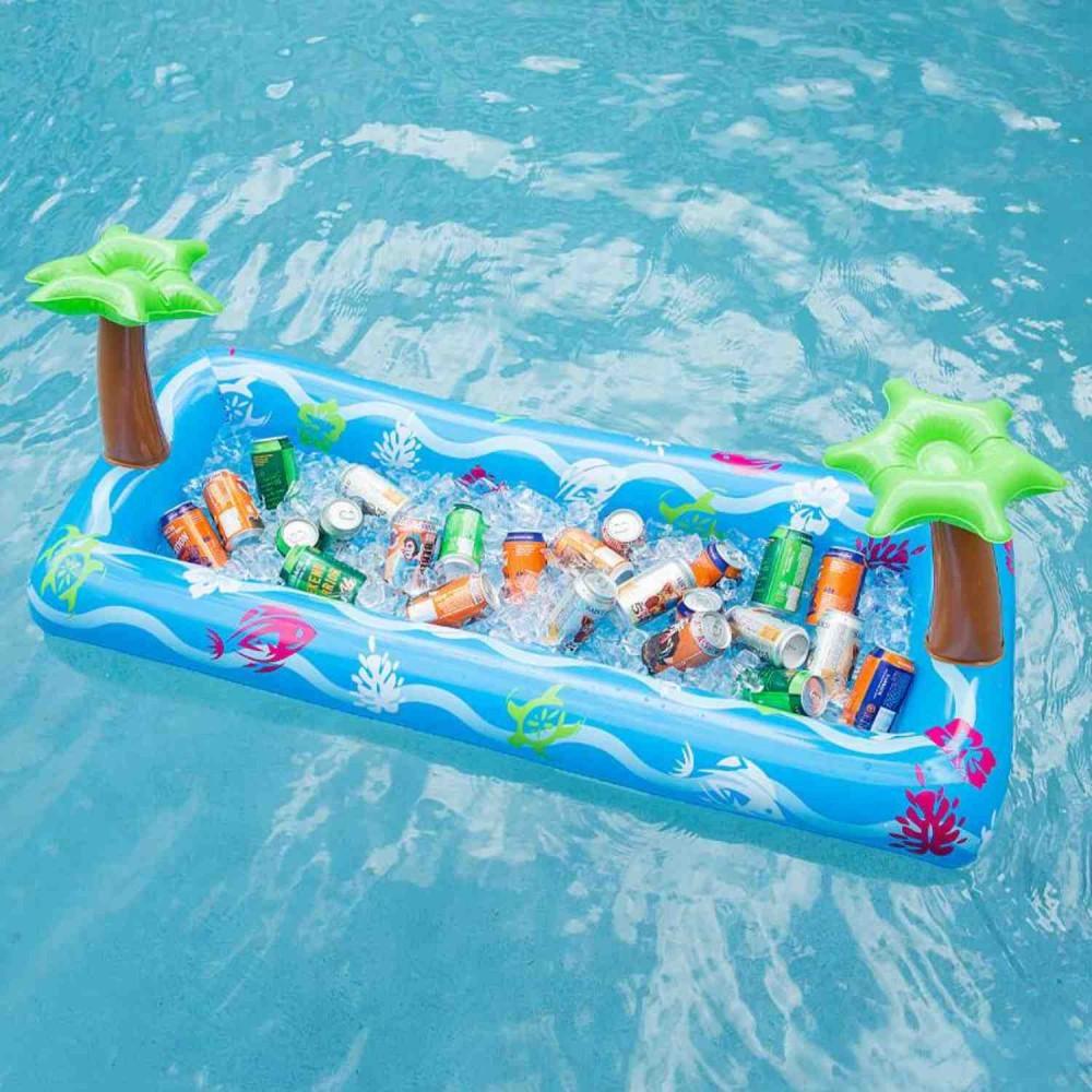 Flotador Buffet Palmeras Para Piscina