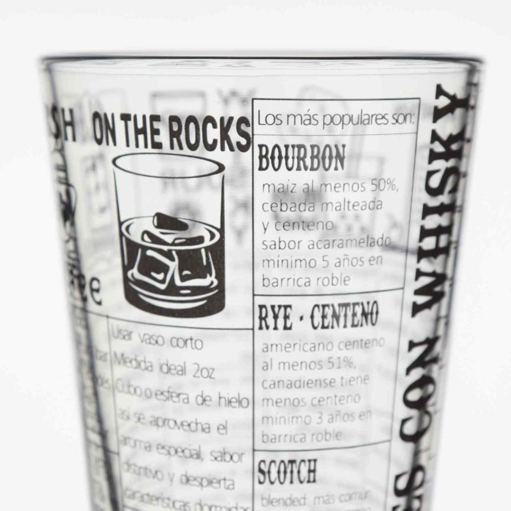 Vaso Boston Vidrio Recetas Whisky