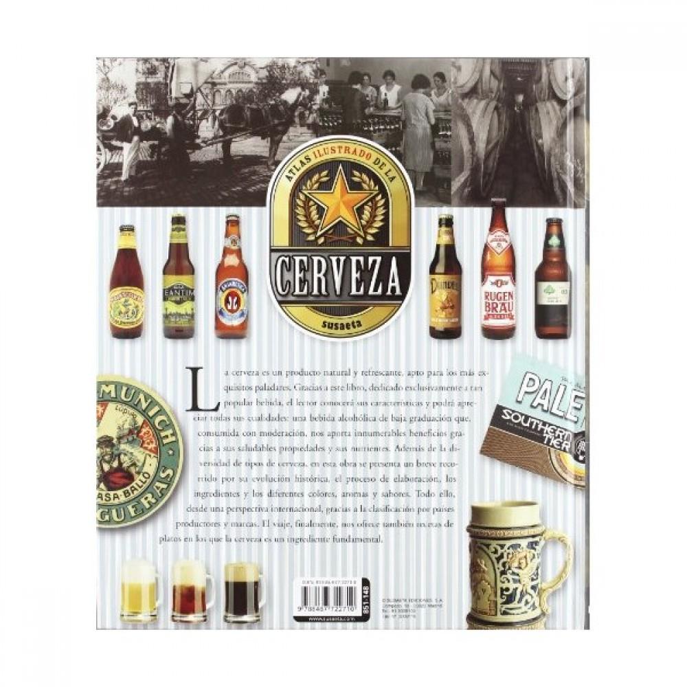 Libro: Atlas Ilustrado De La Cerveza
