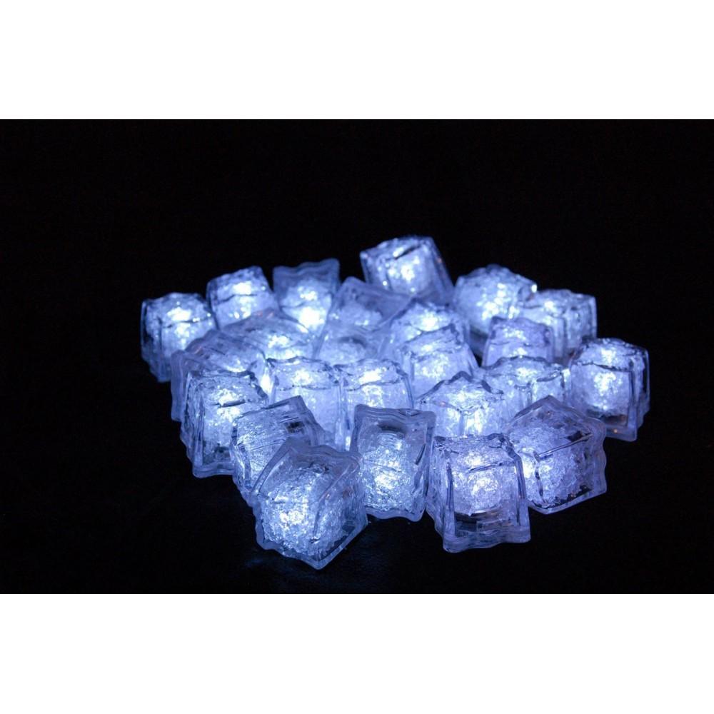Cubo Hielo LED Activado Por Líquido