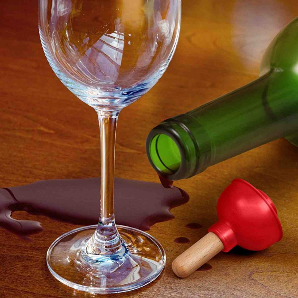 Tapón Vino Tipo Chupa Baño