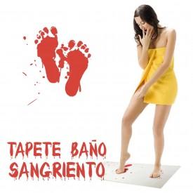 Tapete Baño Agua>Sangre