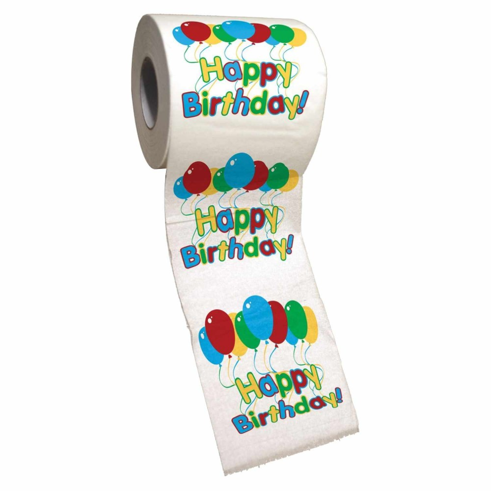 Papel Higiénico Happy Birthday