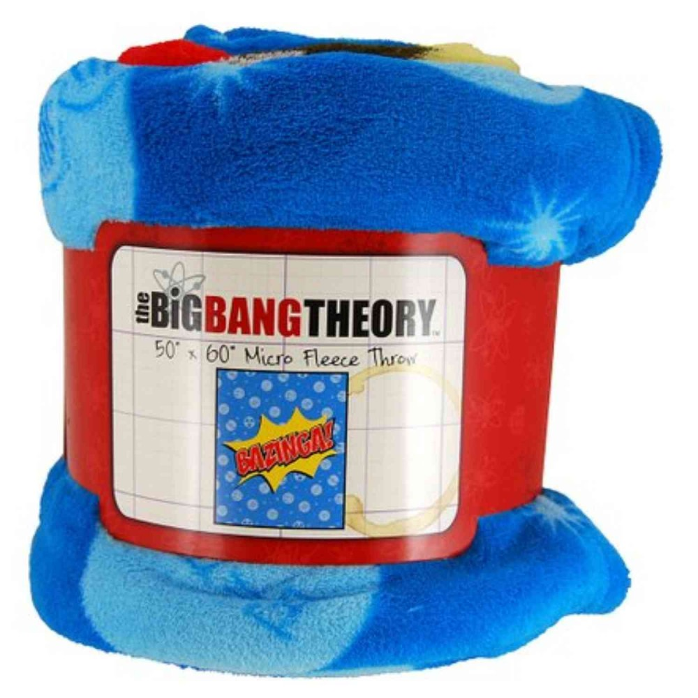 Cobija Big Bang Theory 150x120cms