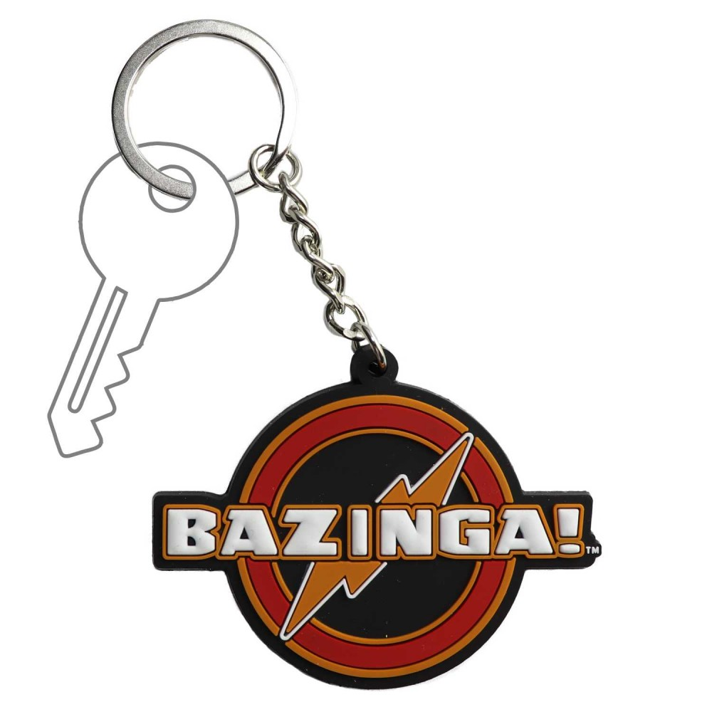 Llavero Big Bang Theory Bazinga