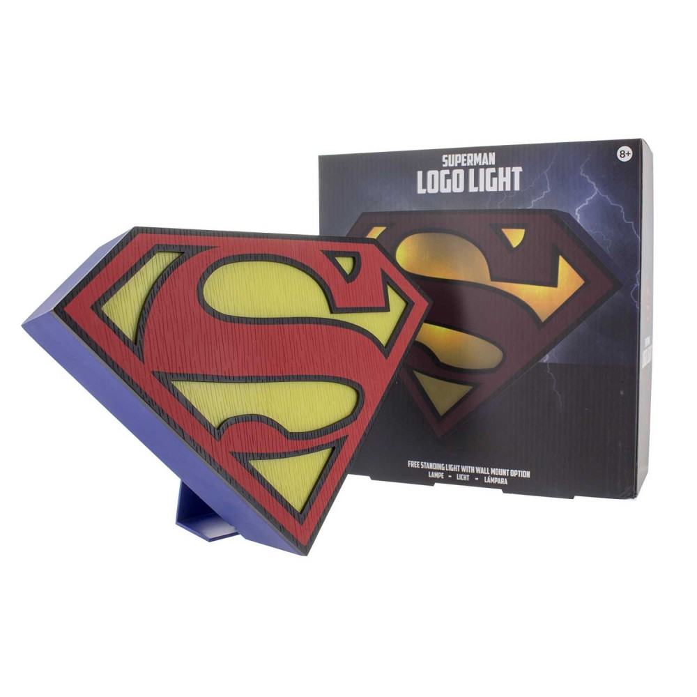 Luz Para Mesa Superman