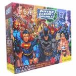 Rompecabezas Liga De La Justicia 1000 Piezas