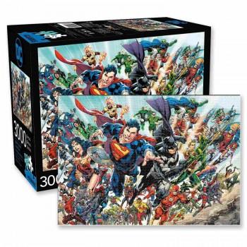 Rompecabezas DC Comics Personajes 3000 Piezas