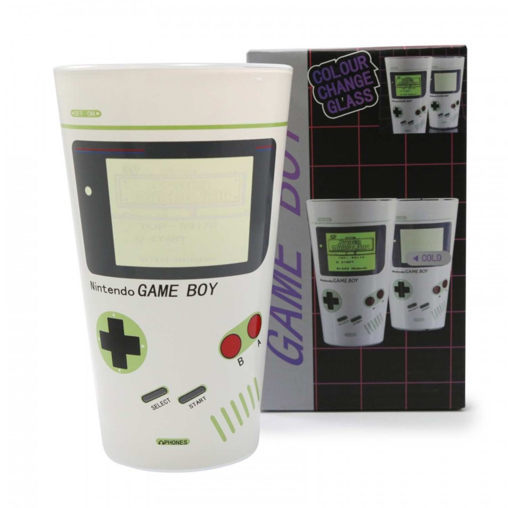 Vaso Vidrio Game Boy