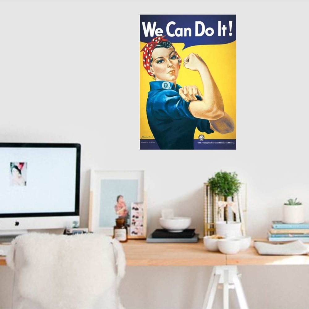Afiche Rosie The Riveter