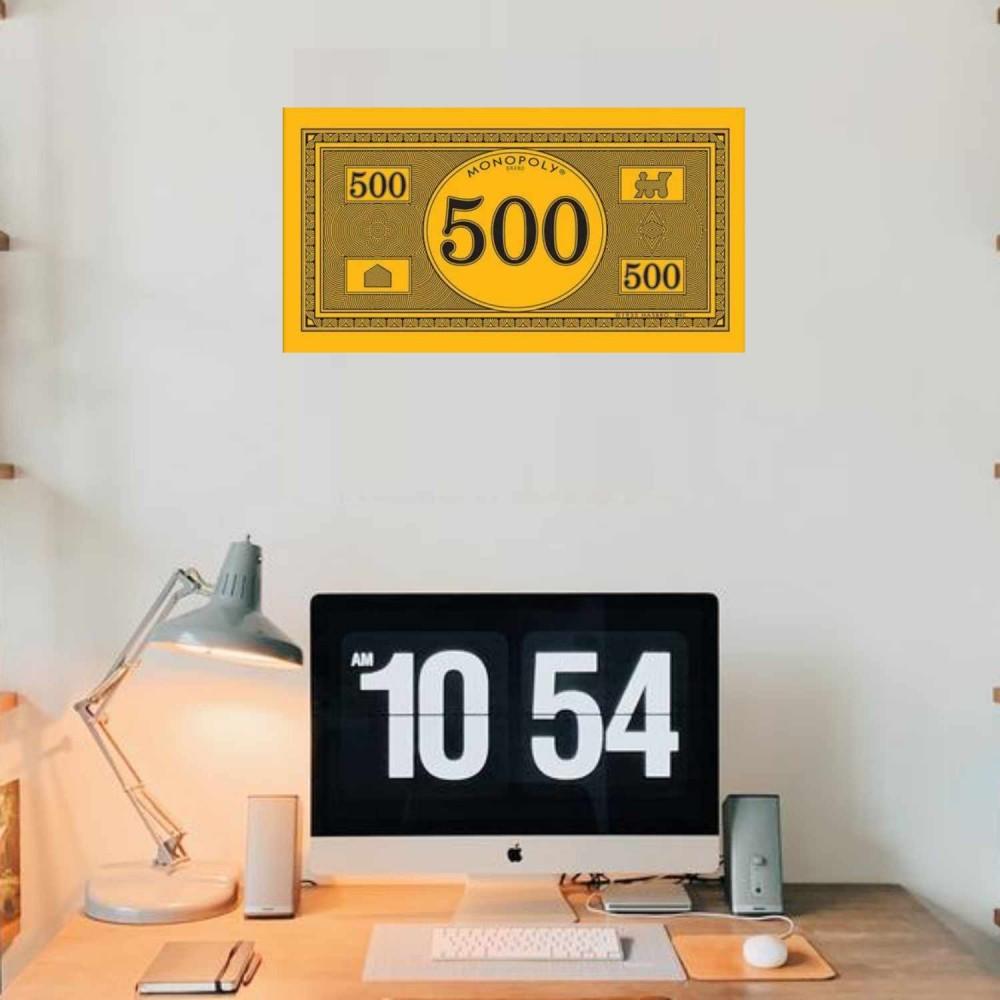 Afiche Monopolio 500