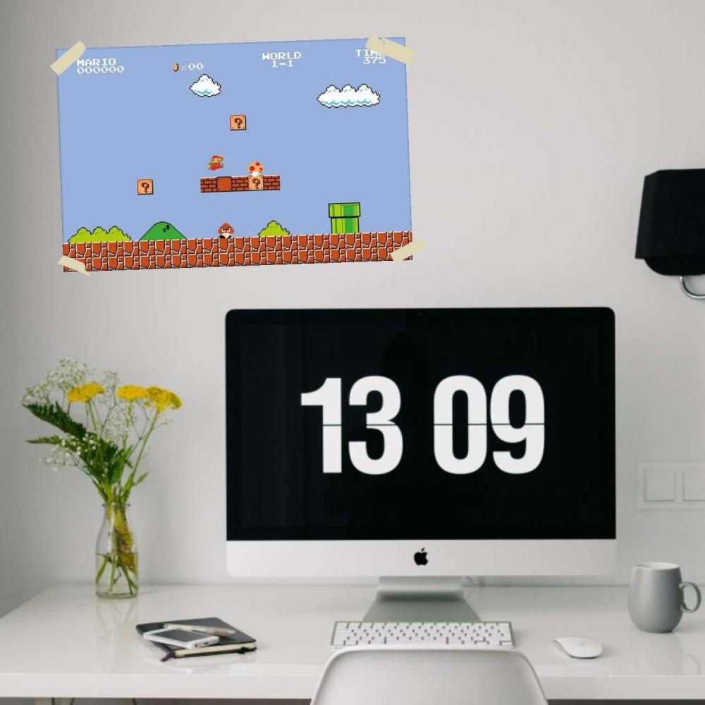 Afiche Super Mario Nivel 1