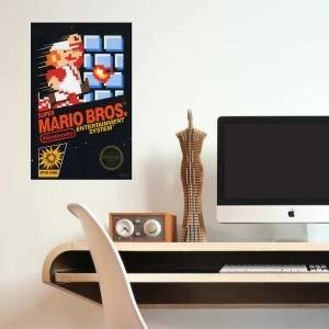 Afiche Super Mario Bros
