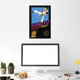 Afiche Kung-Fu