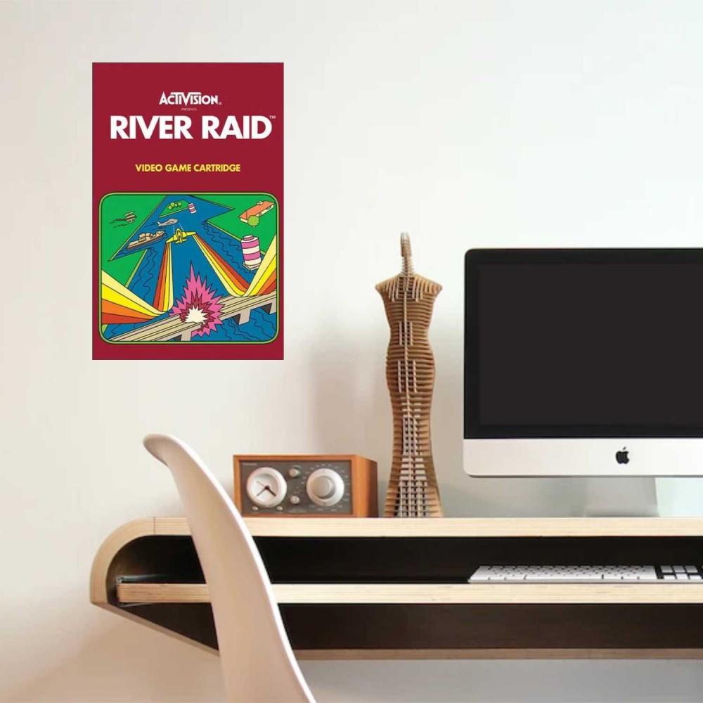 Afiche River Raid Activision
