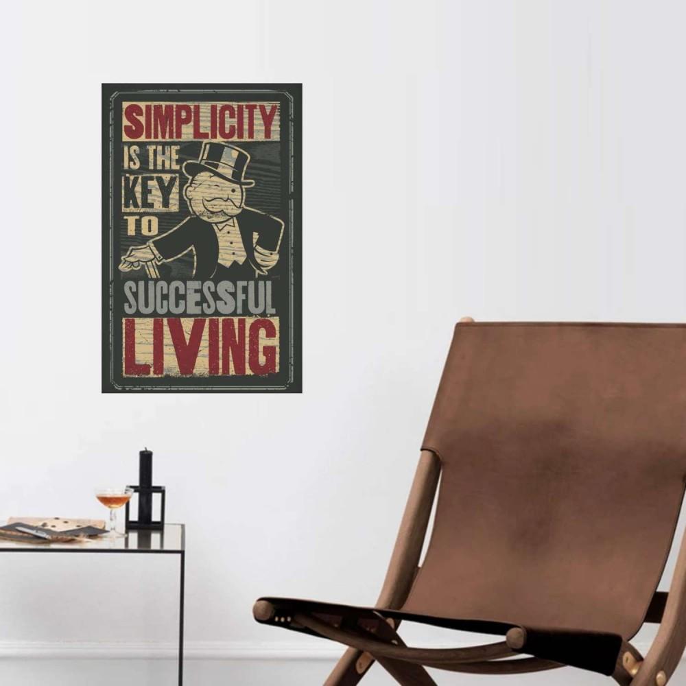 Afiche Monopolio Simplicity
