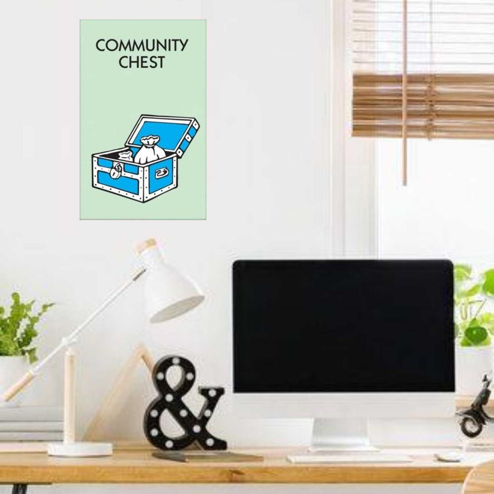 Afiche Monopolio Arca Comunal