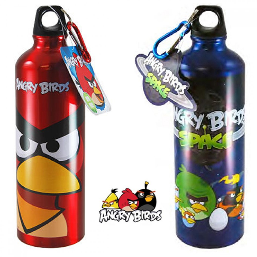 Termo Aluminio Angry Birds Space