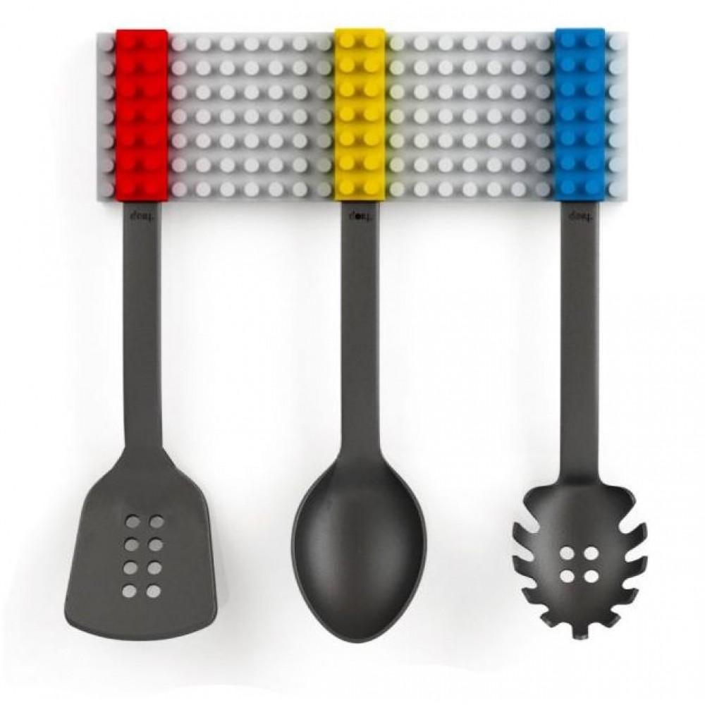 Utensilios Cocina Tipo Bloques Armar