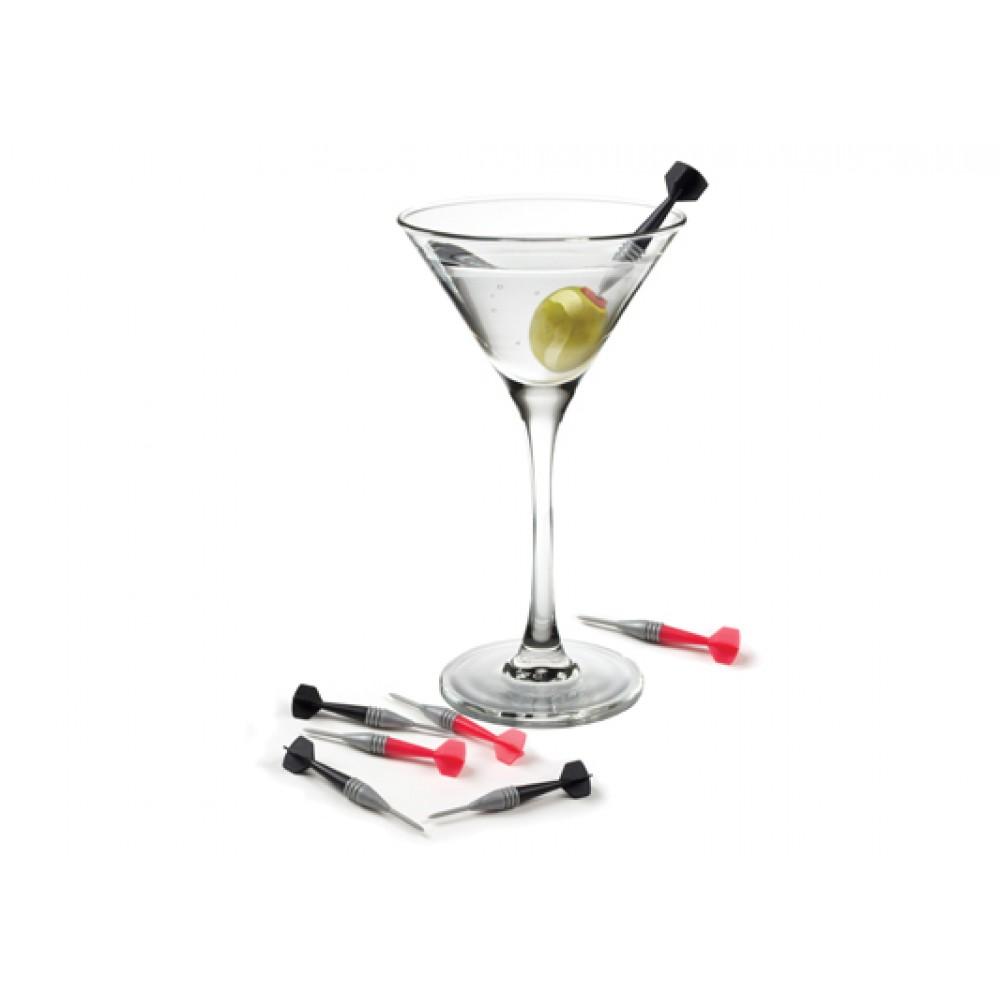 Palillos Martini En Forma De Dardo