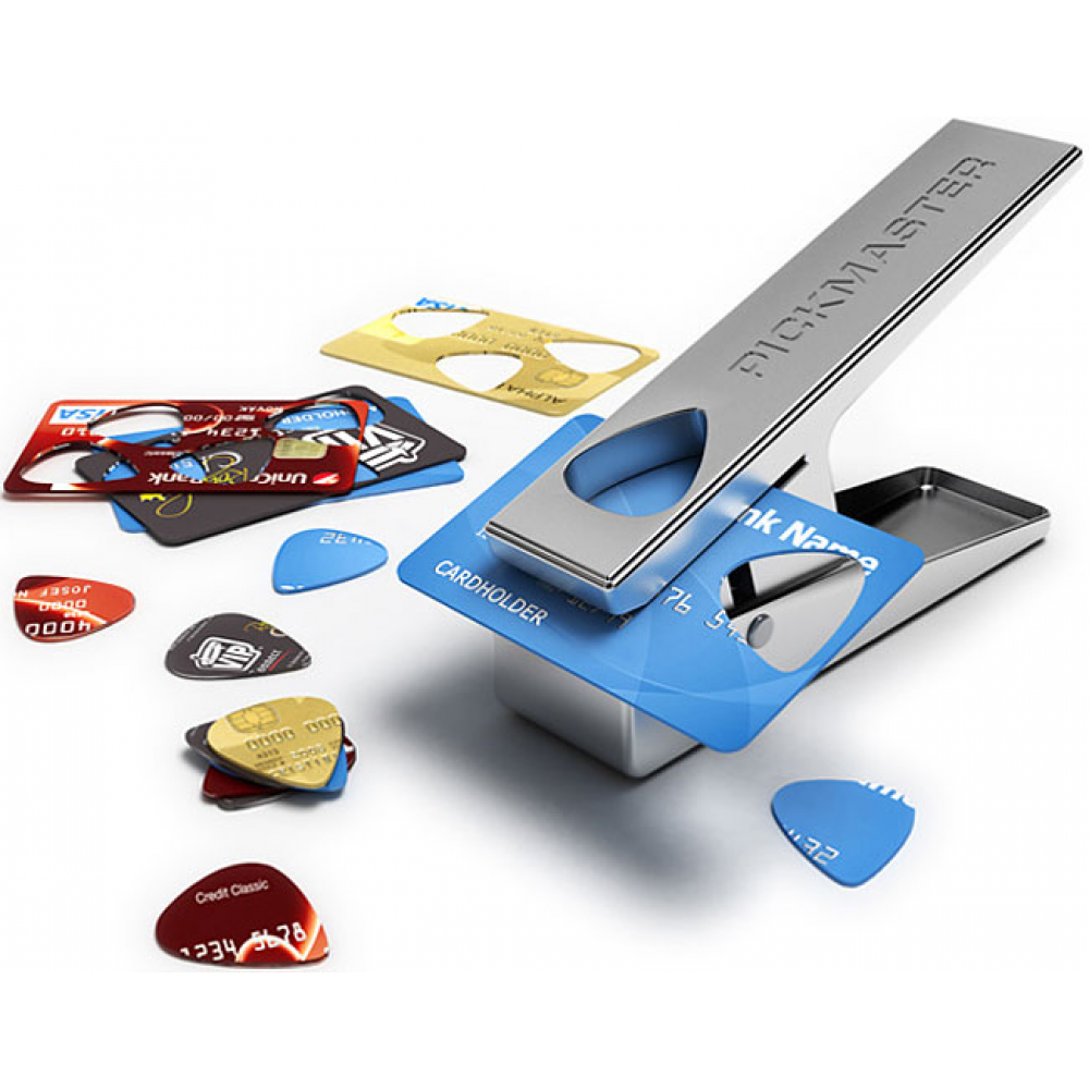 Pickmaster: Haz Tus Propios Picks De Guitarra