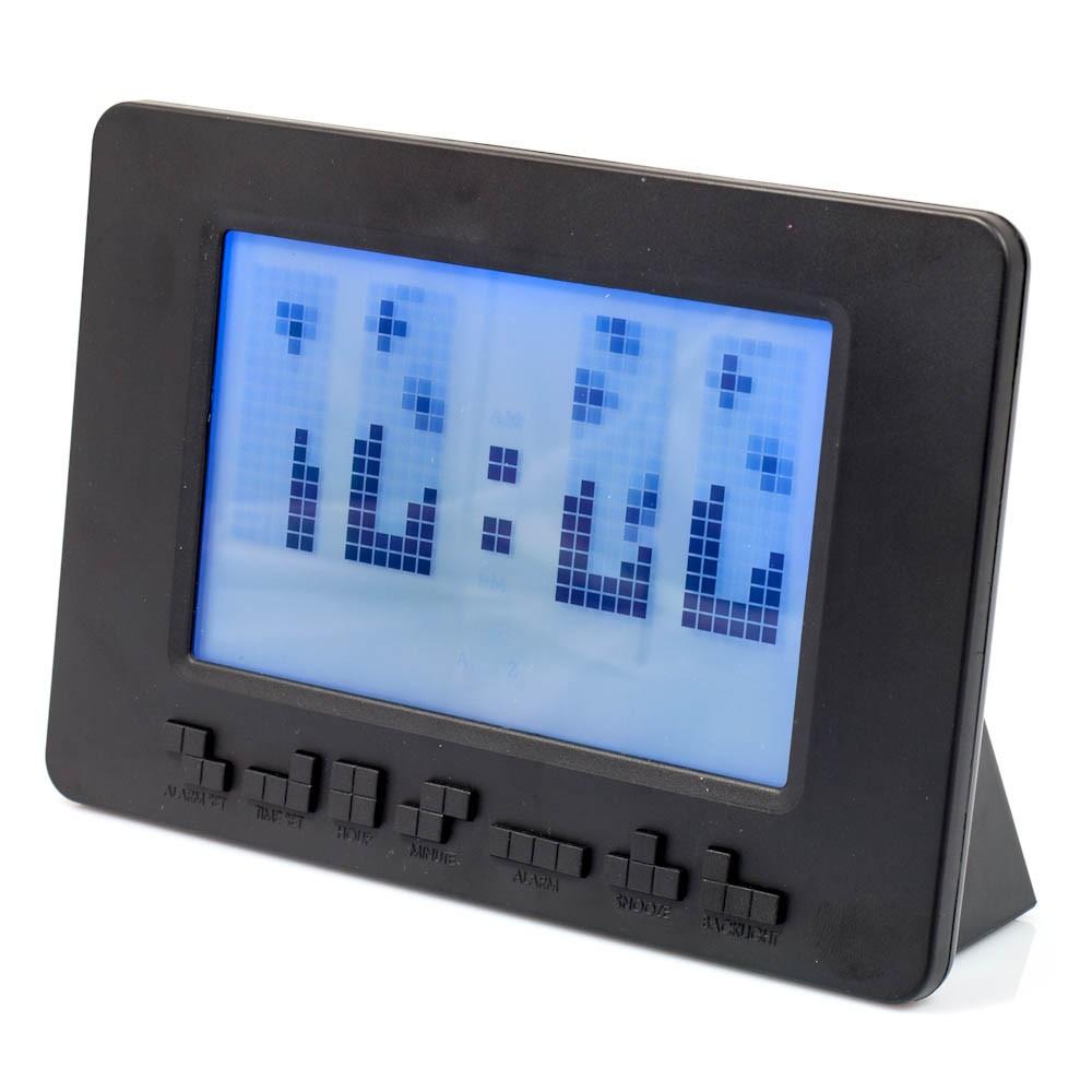 Reloj con Alarma Tetris