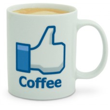 Mug Facebook Me Gusta Café