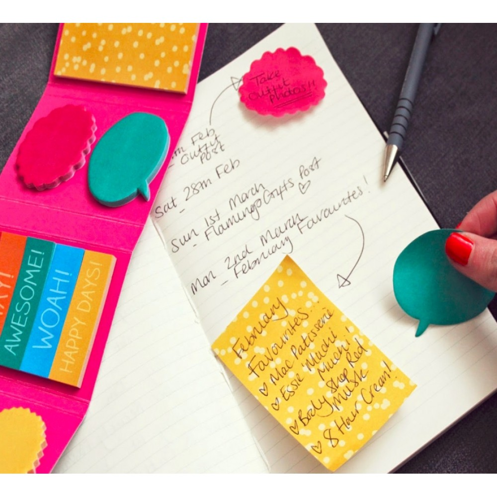 Mini Notas Adhesivas