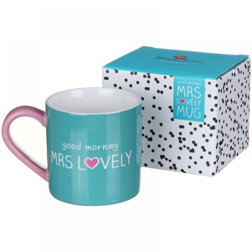 Mug Good Morning MRS LOVELY