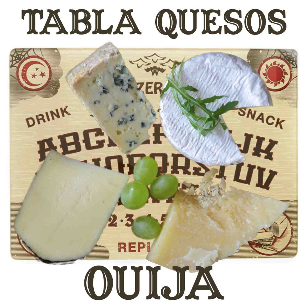 Tabla Quesos Ouija